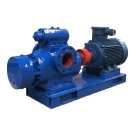 江苏龙力 2GH1400-15双螺杆泵 杂质污泥排污输送