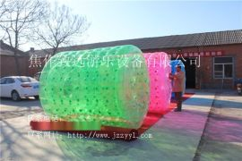 充气玩具 厂家直销专业生产水上浮具充气滚筒