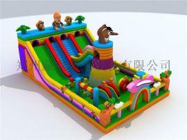 儿童娱乐气垫多少钱一个 气球蹦蹦床多少钱一个 在公园摆大型充气玩具赚钱吗