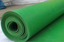 山西绿平橡胶板 绿色耐油胶板 绿色绝缘台垫 耐腐 耐油密封橡胶板