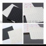 直销 规格8.5*2.5mm硅胶脚垫 黑白自粘胶垫