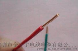 深圳市金环宇电线电缆有限公司批发NH-BV 1平方国标耐火硬线