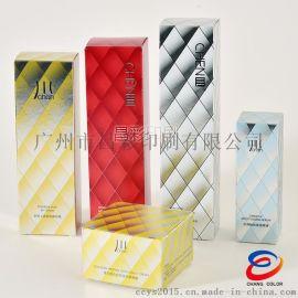 专业BB霜化妆品包装盒 金银卡面膜盒包装纸盒 逆向UV磨砂护肤品盒