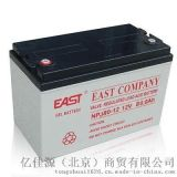 EAST易事特UPS蓄电池NPJ100阀控密封式胶体电池EPS电瓶太阳能电池