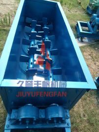 加厚双螺旋搅拌机 无重力浆叶白灰搅拌机 双轴黏土混合机