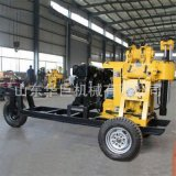 巨匠供應大型鑽深水井鑽機  130型 輪式鑽井機 柴油動力水井鑽機