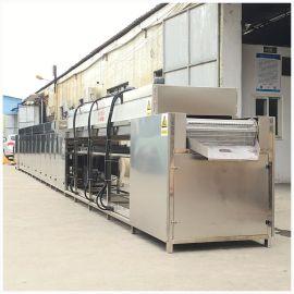 工业通过式超声波清洗机 自动清洗五金除油清洗烘干