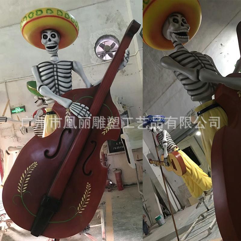 广州泡沫雕塑工厂定制 万圣节圣诞节雕塑 CNC铣床3D泡沫雕刻厂