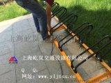 碳素钢卡位式自行车停车架 卡位式自行车停车架