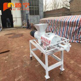 山东浩宇猪粪牛粪固液分离机粪便脱水处理设备厂家