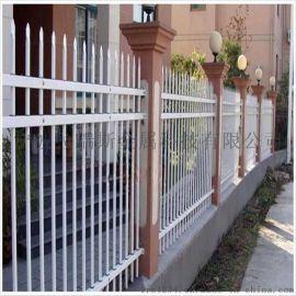 绍兴锌钢围墙护栏,小区铁艺护栏,景区PVC护栏厂家直销