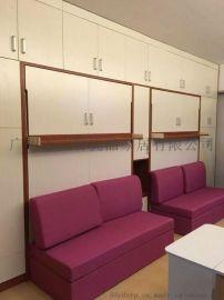 公寓多功能组合智能家具隐形折叠床