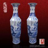 粉彩陶瓷手繪大花瓶定做,手工製作大瓷瓶