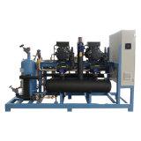 低溫40匹製冷壓縮機 螺桿並聯壓縮機組
