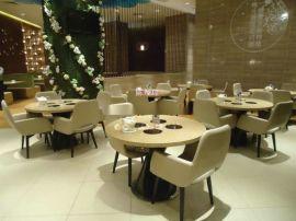 深圳上门安装火锅店桌椅,艺菲达餐厅家具厂