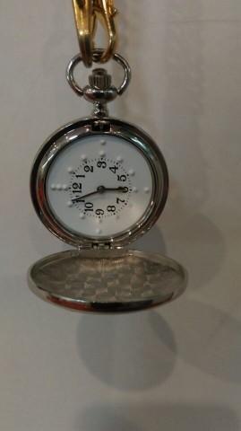 愛奉者盲人翻蓋觸摸式懷錶/盲人生活輔具用品