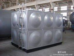 盐城浙江 宿迁实业厂家直销定做304不锈钢方形水箱,消防水箱,地下室水箱