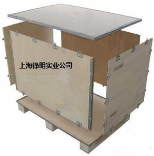 上海閔行包裝木箱木托盤 閔行鋼邊箱卡扣箱 閔行膠合板木包裝箱
