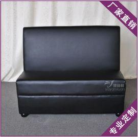双人位沙发KTV工程沙发卡座 咖啡店卡座沙发桌椅组合
