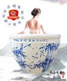极乐汤同款洗浴泡澡陶瓷大缸、净身挂汤缸