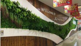 仿真植物墙 酒店装修绿植墙 仿真植物墙厂家 植物墙施工