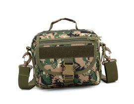 定制單肩迷彩包 斜挎包 戶外運動包來圖打樣可添加logo