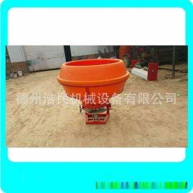 單桶塑料桶1000公斤撒肥機鐵桶施肥器肥料撒播機