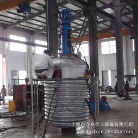 供应不锈钢电加热反应釜 多功能反应釜 定制碳钢立式高压反应罐
