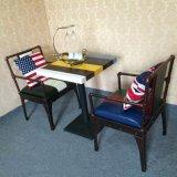 簡易餐廳桌椅 酒吧咖啡餐廳沙發桌椅 廠家直銷凱隆品牌