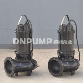 德能WQ潜水排污泵安装示意图