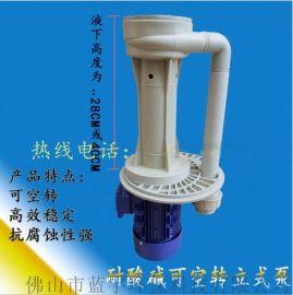 CL-32sk-1 cl系列 耐酸碱可空转立式液下泵 电泳电镀涂装化工循环泵