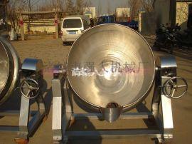 强大机械厂家直销定做夹层锅