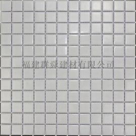 福建 群舜泳池砖纯色马赛克 游泳池专用砖