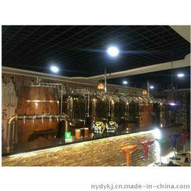 酒店烧烤店啤酒设备500升德国酿酒工艺酿酒设备