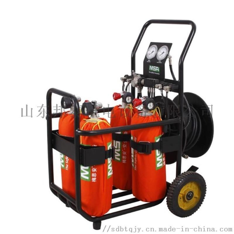 霍尼韦尔推车式移动供气源6.8L基础型气瓶