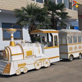 儿童无轨小火车, 观光电动火车,商场火车游乐设备