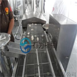 四川长林集团推荐厂家酥肉油炸机 小酥肉油炸机生产线