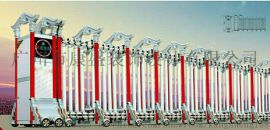 鋁合金電動伸縮門系列