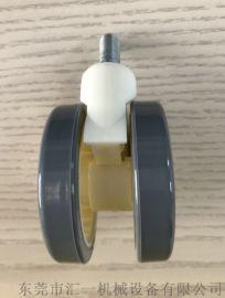 厂家直销 2.5寸医疗轮 丝杆型静音医疗轮