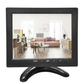 8寸高清HDMI工业液晶显示器 嵌入式 IPS硬屏