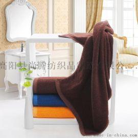 厂家直批吸水毛巾 酒店毛巾白色定做加印LOGO