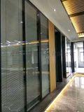 江門鋼化玻璃隔斷免費安裝辦公室鋼化玻璃開門