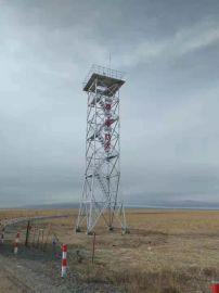 工厂销售18米森林防火瞭望塔,防火了望塔