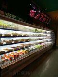 。火鍋店專用風幕櫃定制菜品展示櫃直銷