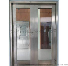 烟台商场钢质大玻璃防火门