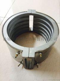 挤出机铸铝电加热圈加热瓦 注塑机喷嘴铸铝加热圈