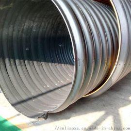 河南周口HDPE钢带增强波纹管厂家直销