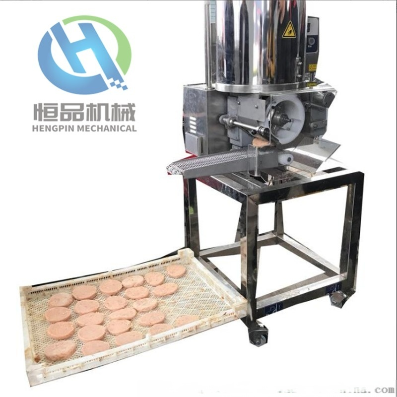 全自动肉饼成型机 恒品提供商用小型肉饼成型机