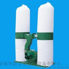 单双桶移动式布袋集尘器工业雕刻机木业布袋除尘器