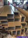 益阳铝合金方管 100x25铝方通 铝方管规格尺寸